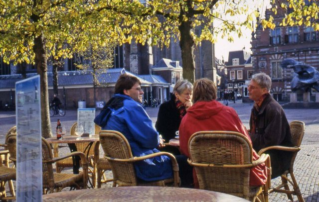 Haarlem, Main Square, Nov 4, 2003. 11 a.m.