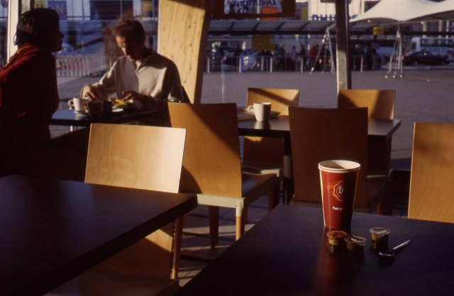 Netherlands. Amsterdam Schipol. Nov 4, 2003. Early morning. Deli-France